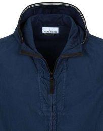 Stone Island 41030 Garment Dyed Crinkle Reps NY Blue Marine