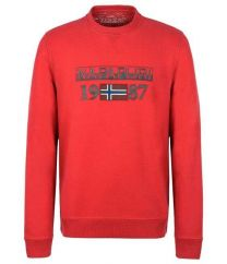 Napapijri Berthow Crew Sweat Red
