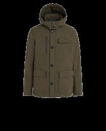 Woolrich Stag Field Jacket Dark Green
