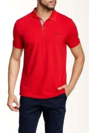 Ben Sherman New Romford Polo Shirt Letterbox Red
