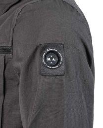 Marshall Artist Garment Dyed Overshirt Charcoal