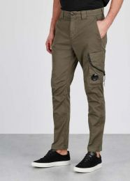 C.P. Company Garment Dyed Stretch Gabardine Trouser Beige