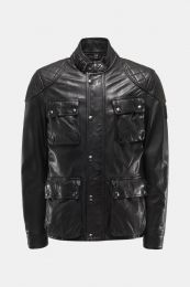 Belstaff Leather jacket Fieldbrook 2.0 Black
