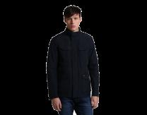 Woolrich Travel Jacket Melton Blue