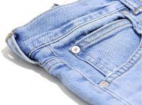 Edwin ED-80 Slim Tapered Jeans CS Power Blue Denim  L32