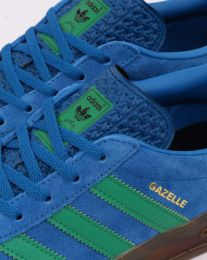 Adidas Gazelle Indoor Blue & Green EE5735