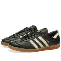 Adidas Hamburg Core Black, White & Lush Red