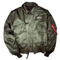 Alpha Industries Flight Jacket CWU-45 Sage Green