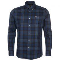 Barbour Wetherham Tailored Shirt Midnight