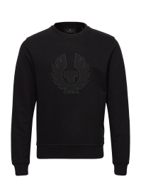Belstaff Phoenix Applique Sweatshirt Black