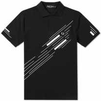 Fred Perry Abstract Graphic Pique Polo 3666-102