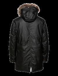 Belstaff Waxed Pathmaster Parka Coat Khaki