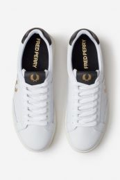 Fred Perry Authentic B200 Leather Sneaker White