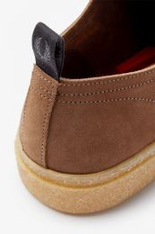 Fred Perry Linden Suede Tobacco
