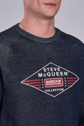 Barbour International Steve McQueen Application Sweatshirt