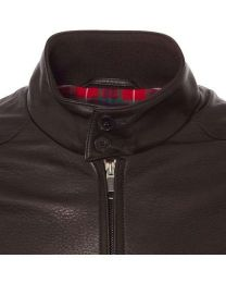 Baracuta G9 Leather Dark Brown