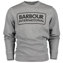 Barbour International Large Logo Sweatshirt Anthracite