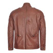 Belstaff Leather jacket Fieldbrook 2.0 Walnut