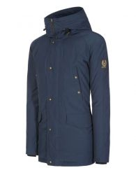 Belstaff Meadwell Parka with Fur Deep Navy