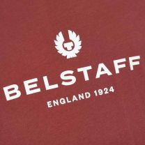 Belstaff 1924 Logo Tee Burnished Red