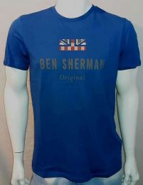 Ben Sherman The Original Tee Bright Blue