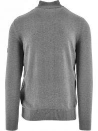 Barbour International Cotton Half-Zip Sweatshirt Grey