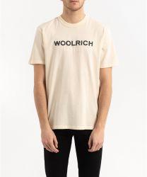Woolrich Logo Tee WOTE0024 White