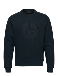Belstaff Phoenix Applique Sweatshirt Dark Ink