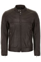Belstaff A. Racer Jacket Dark Brown