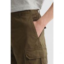 Woolrich Stretch Cotton Cargo Shorts Army Olive