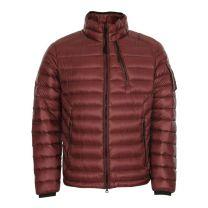 C.P. Company D.D. Shell Lens Zip Down Jacket Andorra Red