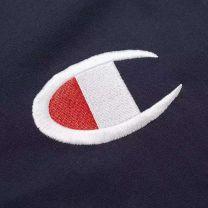 Champion Reverse Weave Chest C Tee Navy