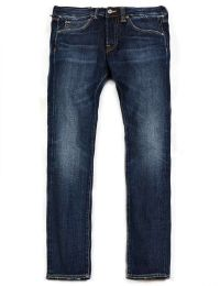 Edwin ED-55 Regular Tapered Jeans 63 Rainbow Selvage Denim Hikaru Wash L32