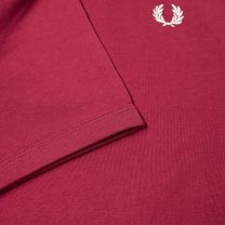Fred Perry Ringer Tee Tawny Port