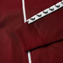 Fred Perry Authentic Taped Track Jacket Tawny Port