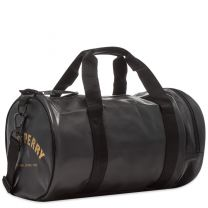 Fred Perry Authentic Tonal Barrel Bag Black