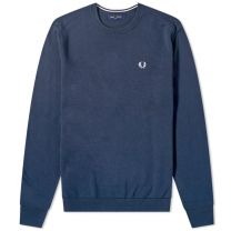 Fred Perry Authentic Classic Crew Knit Deep Carbon