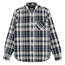 Fred Perry Bold Check Shirt Navy
