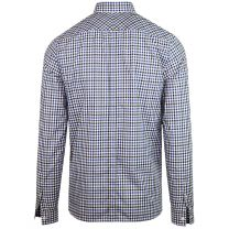 Fred Perry Four Colour Gingham Shirt Royal
