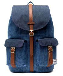 Herschel Dawson Backpack Faded Denim/Indigo Denim