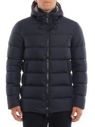 Herno Nylon Chamonix Jacket Blue
