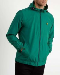 Lyle & Scott Zip Through Hooded Jacket Alpine Green
