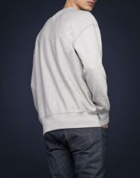 Lee 101 Sweatshirt Sharp Grey Mele