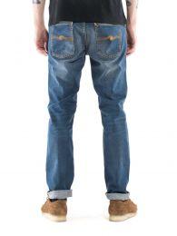 Nudie Jeans Lean Dean Bay Blue L32