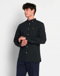 Lyle & Scott Check Poplin Shirt