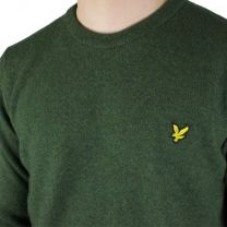 Lyle & Scott Crew Neck Lambswool Green