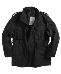 Alpha Industries M-65 Jacket Black