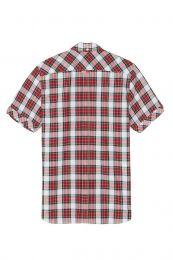 Fred Perry Reissues Tartan Short Sleeve Shirt M7100 100