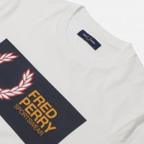 Fred Perry Sportswear Logo Tee White