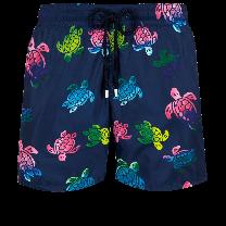 Vilebrequin Mahina Swim Short Ronde des Tortues Aquarelle